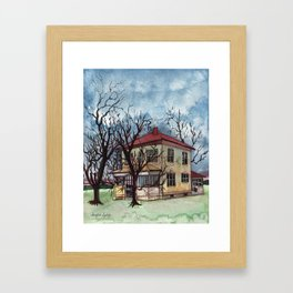 Neglected Home Framed Art Print