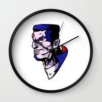 xmen Wall Clocks featuring x16 by jason st paul