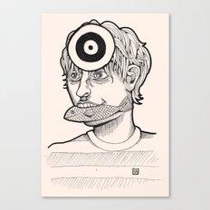 Fish'n'target Canvas Print
