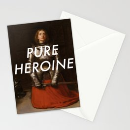 Heroine of Arc Stationery Cards