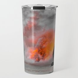 Lava Meets Ocean Travel Mug