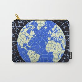 """Earth"" Unique mosaic  Carry-All Pouch"