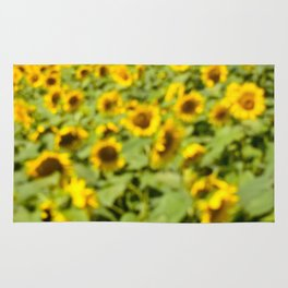 Summer Sunflower Love II Rug