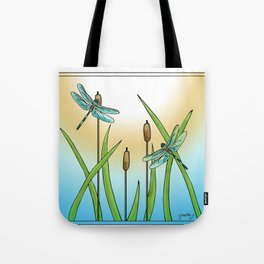 Dragonflies Fly Tote Bag