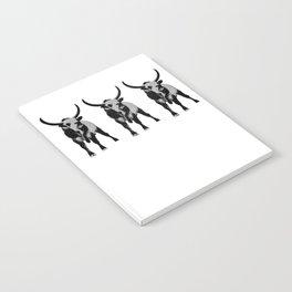 Bulls op art Notebook
