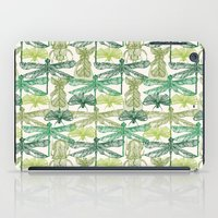 insects iPad Cases featuring Insects by nkpappas