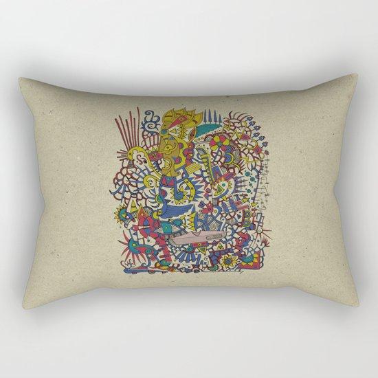 - romantic summer - Rectangular Pillow