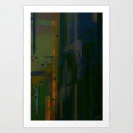 Verticals Art Print