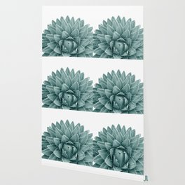 Green Agave Chic #1 #succulent #decor #art #society6 Wallpaper