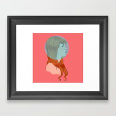 geez Framed Art Print