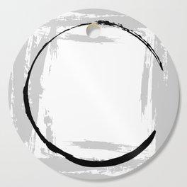 Brushstroke Circles No.1A by Kathy Morton Stanion Cutting Board