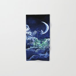 The Doctor Dreaming Of Fishing Hand & Bath Towel