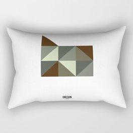 Geometric Oregon Rectangular Pillow