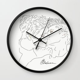 Magnus and Alec Wall Clock
