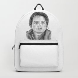 Marty McFly Portrait Backpack