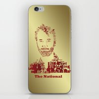 the national iPhone & iPod Skins featuring The National by Luke Eckstein