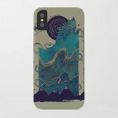 Northern Nightsky Slim Case iPhone X