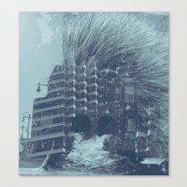 evacuate Canvas Print
