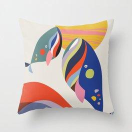 Mother & son Throw Pillow
