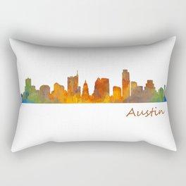 Austin texas cityscap Rectangular Pillow