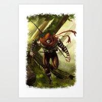 Berenn the Archer Art Print