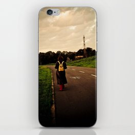 Let your feet take you there. iPhone Skin