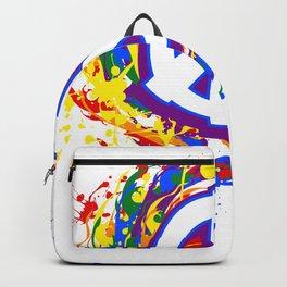 Rainbow Pride Peace LGBT Backpack
