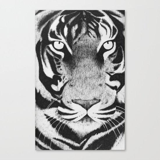 Be a Tiger Canvas Print