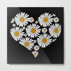 Daisy Love Metal Print