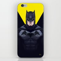 bat man iPhone & iPod Skins featuring Bat man by Muito