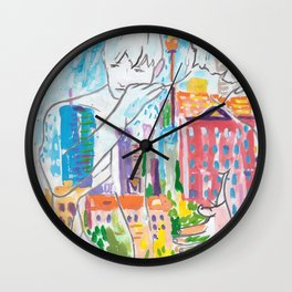 Nothing Lasts Forever - Except Us Wall Clock