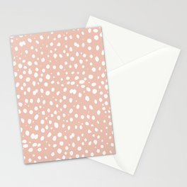 LEOPARD PINK Stationery Cards