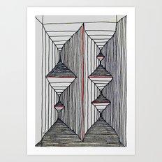 Dexed In Art Print