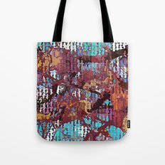 Multicolored nature abstract Tote Bag