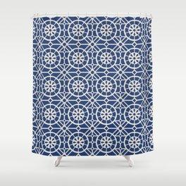 Azul Tiles (Patterns Please) Shower Curtain