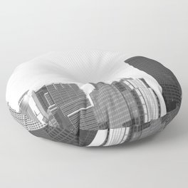 Minneapolis Minnesota Floor Pillow