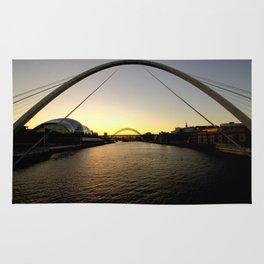 Views Up The Tyne Rug