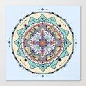 Time and Light Native Shapes Mandala by debsdigs
