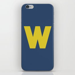 W is for... iPhone Skin