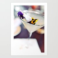 martini Art Prints featuring Martini by kbattlephotography