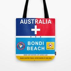 Bondi Beach Sydney Australia Poster iPhone 4 5 6, ipod, ipad case Samsung Galaxy Tote Bag