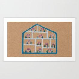 Hot House Art Print