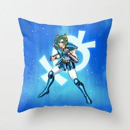 Caballero de Mercurio Throw Pillow