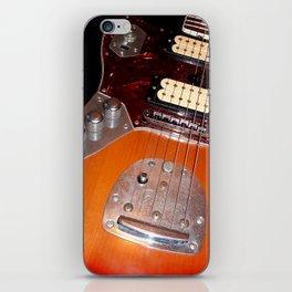 My yellow Orange Classic Electric Guitar iPhone Skin