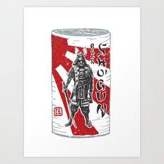 Shogun Beer Art Print