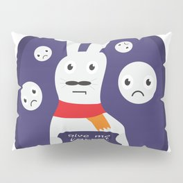 Rabbit give me carrot  #society6 #printart #decor #buyart Pillow Sham