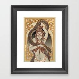 The Serpent Charmer  Framed Art Print