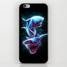 Bull Sharks iPhone & iPod Skin