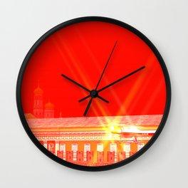 SquaRed: Freedom Flight Wall Clock