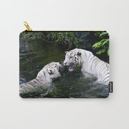 Tigers Fight Carry-All Pouch